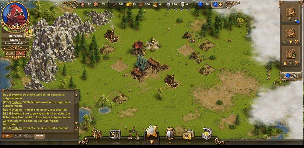 Die Siedler Online Browsergame Strategie