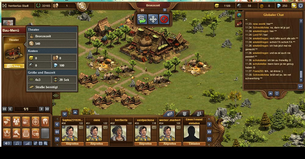 Forge of Empires Browsergame Strategie