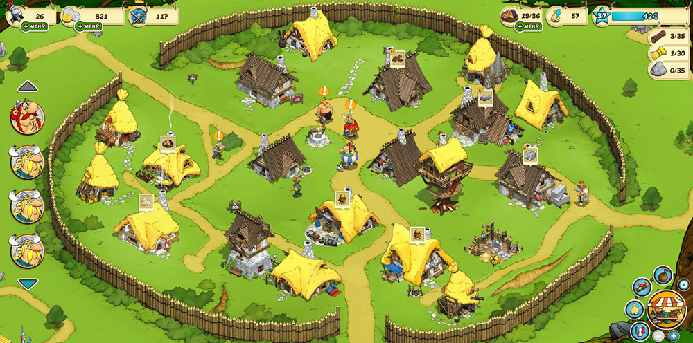 Asterix and Friends Browsergame Review