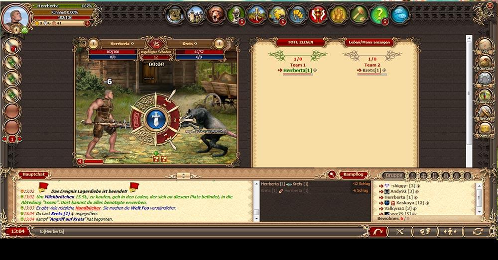 Drachenkrieg Fantasy Browsergame