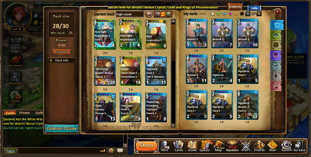 Kings and Legends Browsergame Review