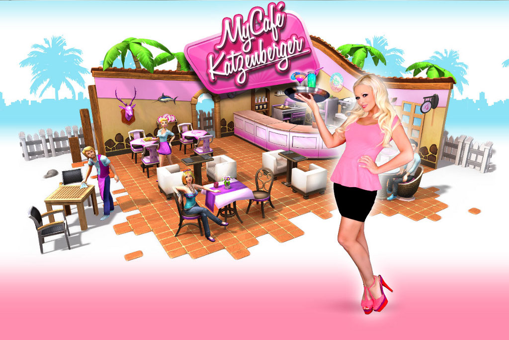 My Cafe Katzenberger Browsergame Simulation