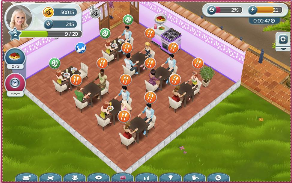 kostenloses Browsergame My Café Katzenberger - Review Megagames.de