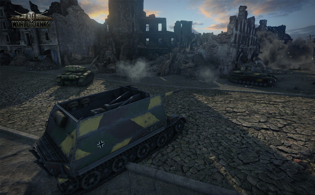 World of tanks - kostenloses Browsergame - Review Megagames.de